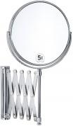 Подробнее о Зеркало косметическое Andrea House BA5015 настенное (5Х) диаметр 17 см хром