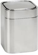 Подробнее о Контейнер Andrea House BA61181 для мусора 11,5 х h15,5 см нержавеющая сталь полированная