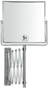 Подробнее о Зеркало косметическое Andrea House  BA8018 настенное (5Х) 15 х 15 см хром