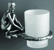 Подробнее о Стакан Art&Max Juno AM-0714-T настенный серебро