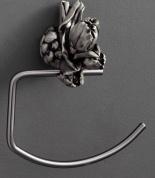 Подробнее о Полотенцедержатель Art&Max Tulip AM-0826-T полукольцо серебро