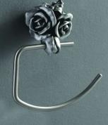 Подробнее о Полотенцедержатель Art&Max Rose AM-0916-T полукольцо серебро