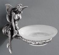 Подробнее о Мыльница Art&Max Fairy AM-B-0985-T настенная серебро
