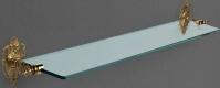 Подробнее о Полка Art&Max Impero AM-1729-Cr стеклянная длина 76 см хром / стекло матовое