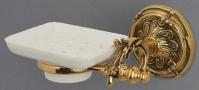 Подробнее о Мыльница Art&Max Barocco AM-1786-Cr настенная хром / керамика белая