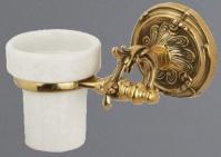 Подробнее о Стакан Art&Max Barocco AM-1787-Cr настенный хром / керамика белая