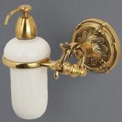Подробнее о Дозатор мыла Art&Max Barocco AM-1788-CR настенный хром / керамика белая