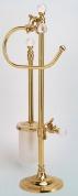 Подробнее о Стойка с аксессуарами Art&Max Barocco Crystal AM-1948-Cr-C напольная хром / стекло матовое / Swarovski