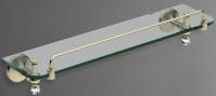 Подробнее о Полка стеклянная Art&Max Antic Crystal AM-2682SJ-Cr хром