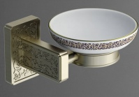 Подробнее о Мыльница Art&Max Gotico AM-E-4899AQ настенная бронза