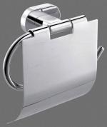 Подробнее о Держатель туалетной бумаги Art&Max Tito AM-8051N с крышкой хром