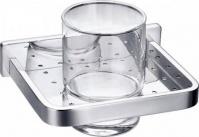 Подробнее о Стакан Art&Max Maxima aрт. AM-F-8920 настенный хром / стекло прозрачное