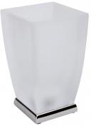 Подробнее о Стакан Art&Max Soli aрт. AM-G-6631D настольный хром / стекло матовое