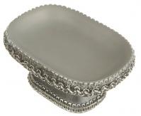 Подробнее о Мыльница Avanti Braided Medallion Silver 11166C-SLV настольная цвет серый