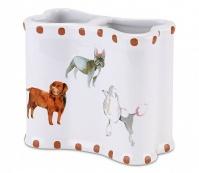Подробнее о Стакан Avanti Dogs on Parade 13688B настольный двойной цвет белый