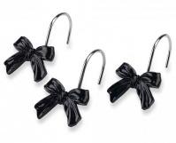 Подробнее о Крючки Avanti Chloe 13824G для шторки (12 штук) цвет черный