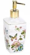Подробнее о Дозатор Avanti Butterfly Garden 13882D настольный цвет белый
