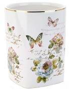 Подробнее о Корзина Avanti Butterfly Garden 13882F для мусора цвет белый