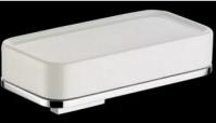 Подробнее о Мыльница Bagno&Associati Altissima AT12251 подвесная хром / керамика белая