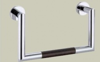 Подробнее о Полотенцедержатель Bagno&Associati Ambiente Elite wenge AX 207 дуга хром / wenge
