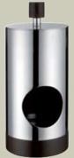 Подробнее о Контейнер Bango&Associati Ambiente Elite wenge AX 863 для ватных шариков хром / wenge