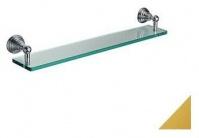 Подробнее о Полка Bagno&Associati Canova CA11352 стеклянная стекло / золото