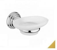Подробнее о Мыльница Bagno&Associati Canova CA12352 подвесная золото / стекло матовое