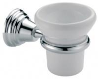 Подробнее о Стакан Bagno&Associati Canova CA14251 подвесной хром / керамика белая