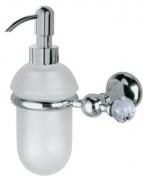 Подробнее о Дозатор для жидкого мыла Bagno&Associati Folie  FO 127.51 SW настенный хром / Swarovski