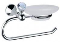 Подробнее о Полотенцедержатель Bagno&Associati Folie  FS 238.51 SW с мыльницей хром / Swarovski