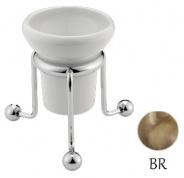Подробнее о Стакан Bagno&Associati Opera OP74292 настольный бронза /керамика белая