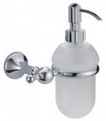 Подробнее о Дозатор Bagno&Associati Regency  RE 127 51 подвесной хром / стекло матовое