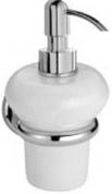 Подробнее о Дозатор Bagno&Associati Shire SH12851 подвесной хром / керамика белая