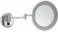 Подробнее о Зеркало  Bagno&Associati  SP 811.51 косметическое диаметр 22 см увеличительное (2X настенное с LED подсветкой хром