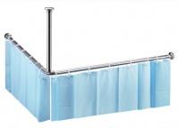 Подробнее о Штанга для занавески Bemeta Shower Programme 101120042 90х90 см для душа хром