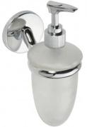 Подробнее о Дозатор для жидкого мыла Bemeta Alfa 102408022 хром/стекло матовое