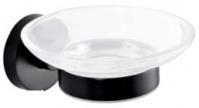 Подробнее о Мыльница Bemeta Dark 104108040 цвет черный/стекло