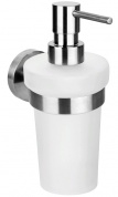 Подробнее о Дозатор для жидкого мыла Bemeta Neo 104109016 подвесной хром/стекло матовое