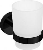 Подробнее о Стакан для ванной Bemeta Dark 104110010 стеклянный черный