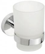 Подробнее о Стакан для ванной Bemeta Omega 104110012 хром/стекло матовое