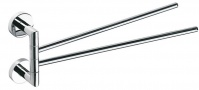 Подробнее о Полотенцедержатель Bemeta Omega 104204102 двойной поворотный хром