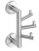 Подробнее о Крючок для полотенец Bemeta Neo 104206075 тройной хром