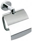 Подробнее о Держатель туалетной бумаги Bemeta Omega 104212012 с крышкой хром