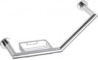 Подробнее о Поручень для ванной Bemeta Omega 104307631 с мыльницей хром