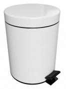 Подробнее о Мусорное ведро Bemeta Hotel 104315014 (5 литров) цвет белый