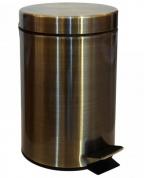 Подробнее о Мусорное ведро Bemeta Hotel 104315023 (5 литров) цвет бронза