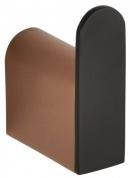 Подробнее о Крючок для полотенец Bemeta Galla 108106020 одинарный черный матовый/золото розовое