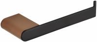 Подробнее о Держатель туалетной бумаги Bemeta Galla 108112030 открытый черный матовый/золото розовое