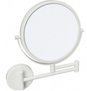 Подробнее о Зеркало косметическое Bemeta White 112201514 цвет белый