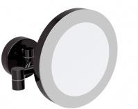 Подробнее о Зеркало Bemeta Dark 116101770 с подсветкой 22,5 х h20 см цвет черный